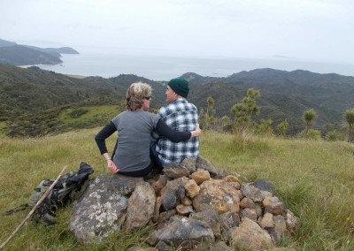 Jenny & Henk at Waikawau